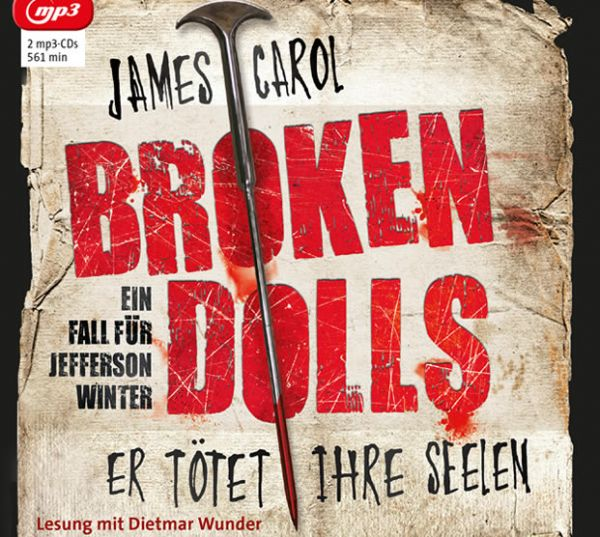 James Carol - Broken Dolls Cover