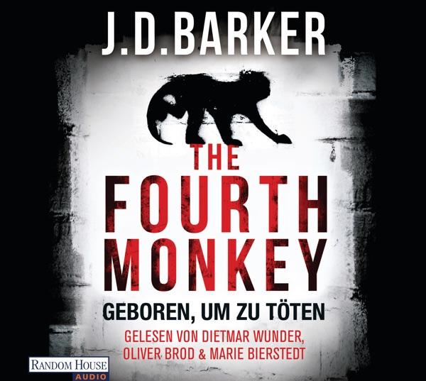 Cover von J. D. Barker - The Fourth Monkey